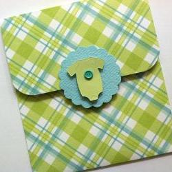 Gift Card Holder for Baby Boy