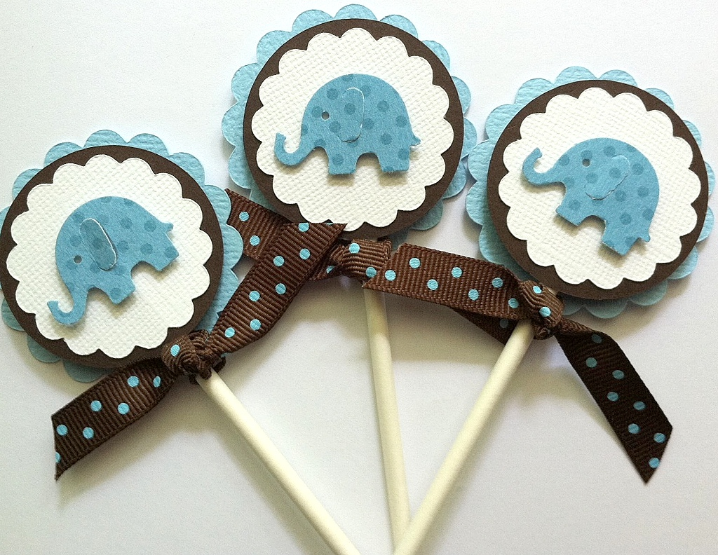 cupcake toppers baby boy cupcake toppers baby shower cupcake toppers
